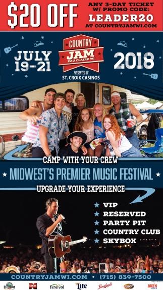 Midwest's Premier Music Festival