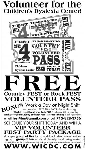 Volunteer for the Children's Dyslexia Center