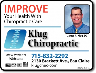 Improve Your Health with Chripractic Care