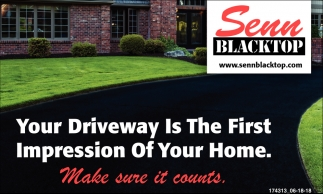 Your Driveway is the First Impression of your Home