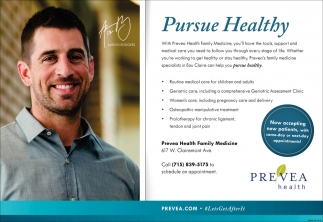 Pursue Healthy