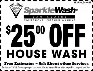 Professional Pressure Washing