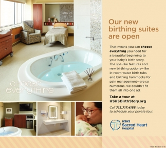 Our New Birthing Suites are Open