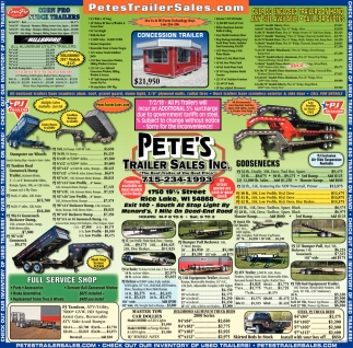 Petes Trailer Sales