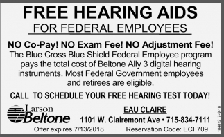 FREE Hearing Aids