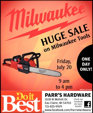 Milwaukee Huge Sale