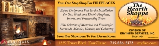 Your One Stop Shop for Fireplaces