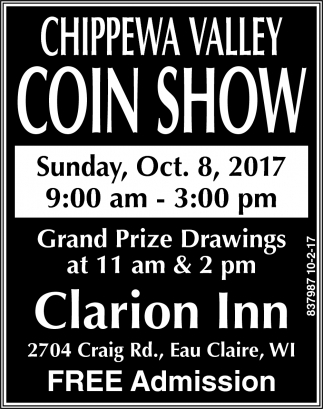Chippewa Valley Coin Show