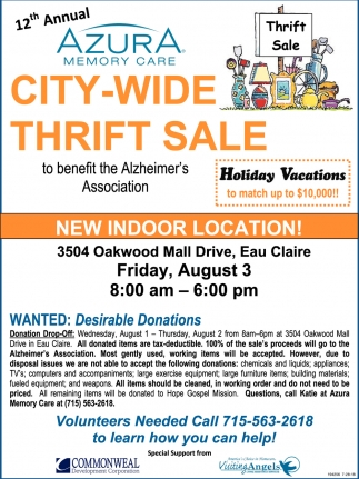 City-Wide Thirft Sale