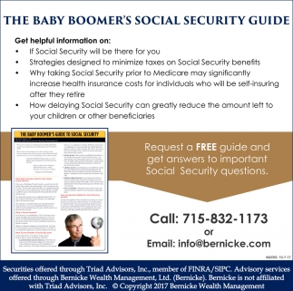 The Baby Boomer's Social Security Guide