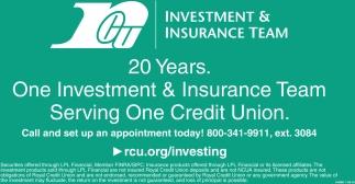 Investment & Insurance Team