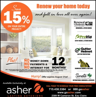 Renew Your Home Today