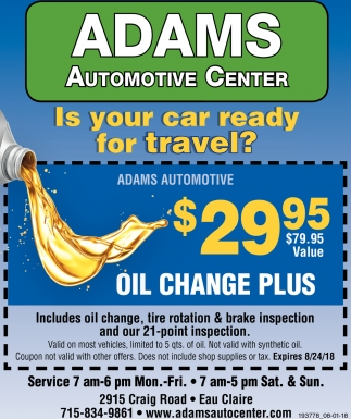 Is Your Car Ready for Travel?
