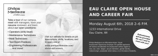 Eau Claire Open House and Career Fair