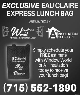 Exclusive Eau Claire Express Lunch Bag