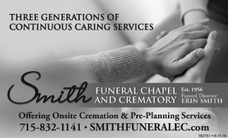 Three Generations Of Continuous Caring Services