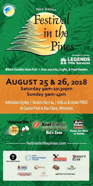 August 25 & 26, 2018