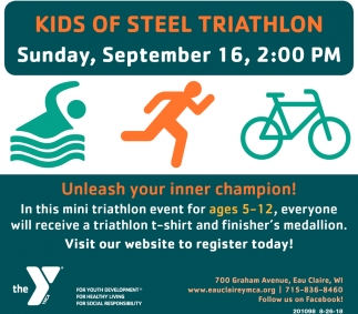 Kids of Steel Triathlon