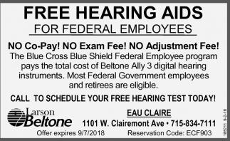 Free Hearing Aids, Larson Beltone Hearing Aids Center, Eau