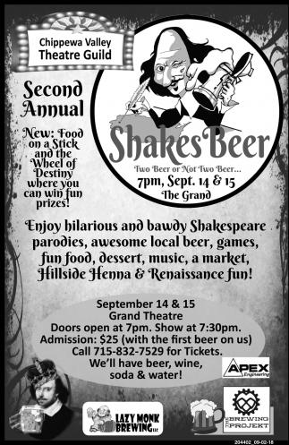 Shakes Beer