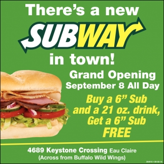 There's a New Subway!