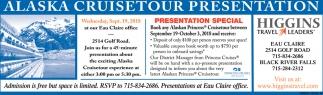 Alaska Cruisetour Presentation
