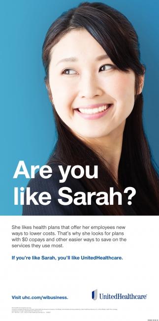 Are You Like Sarah?