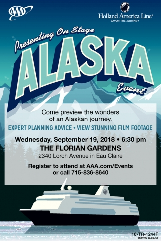 Presenting On Stage Alaska Event
