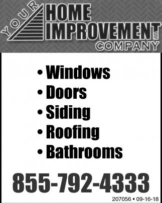 Windows Your Home Improvement Company