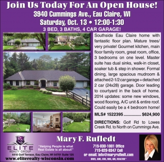 Join Us Today for An Open House!