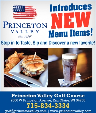 Introduces New Menu Items