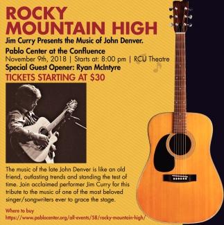 Jim Curry Presents the Music of John Denver