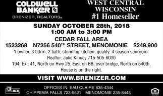 West Central Wisconsin #1 Homeseller