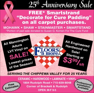 25th Anniversary Sale