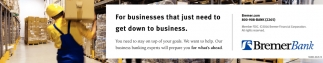 For Businesses that Just Need to Get Down to Business