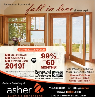 Renew your home and fall in love