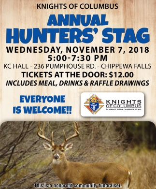 Annual Hunters' Stag