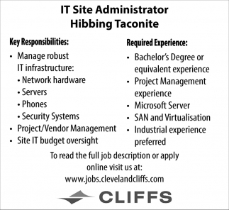 IT Site Administrator