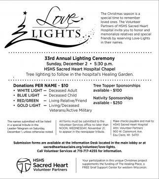 33rd Annual Lighting Ceremony