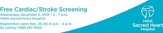 Free Cardiac/Stroke Screening