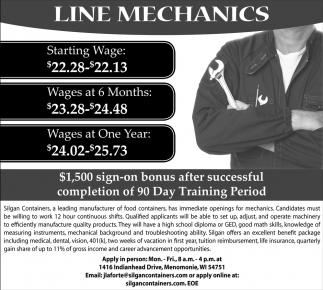 Line Mechanics