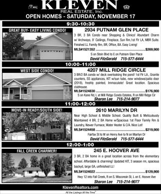 Open Homes