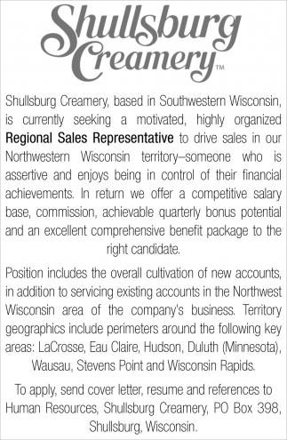 Regional Sales Representative