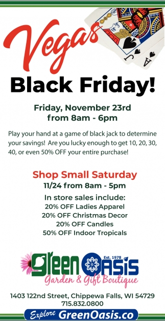 Vegas Black Friday!