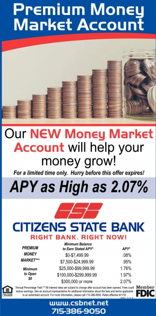 Premium Money Market Account