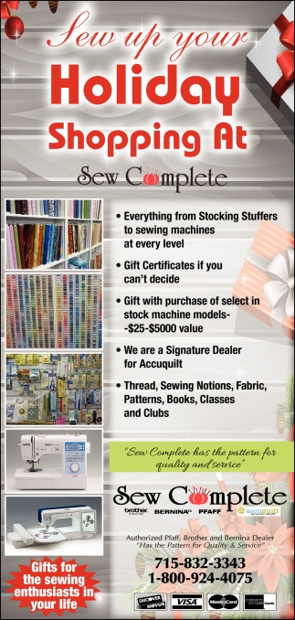 Sew Up your Holiday Shopping