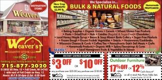 Bulk & Natural Foods