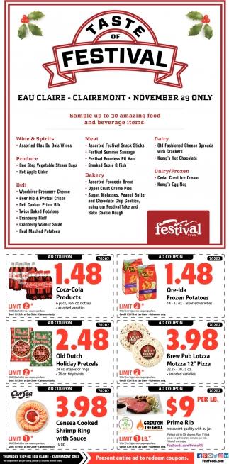 Taste of Festival