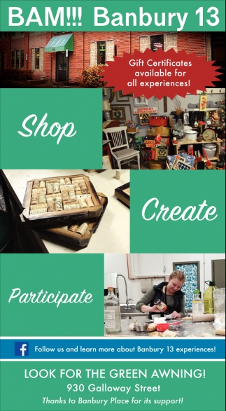 Shop - Create - Participate