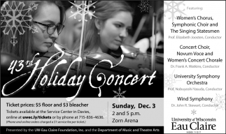 43rd Holiday Concert